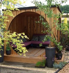 nice cozy outdoor sapce!
