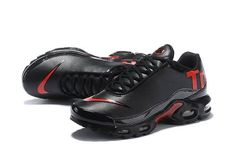 d3495ab6650d Nike Mercurial Air Max Plus Tn Black/Red Men's Running Shoes