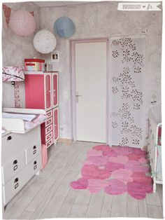1000 images about d co chambre b b on pinterest baby bedroom nurseries and diy home - Chambre vintage bebe ...