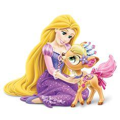 Amazon.com: Disney Princess Palace Pets - Furry Tail Friends Doll ...