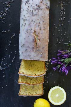 Plumcake lavanda e limone Tea Loaf, Plum Cake, Lavander, Breakfast Cake, Provence, Camembert Cheese, Buffet, Pineapple, Food Porn