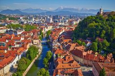 The city of Ljubljana is not a world famous tourist destination point as attractions in this city ar. Best Places To Retire, Cool Places To Visit, Great Places, Visit Slovenia, World 2020, City Break, Best Cities, Countries Of The World, Amazing Destinations