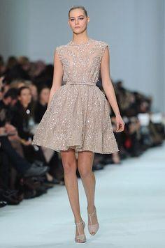 Paris Haute Couture: Elie Saab spring/summer 2012