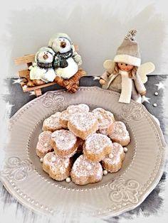 Medovo kokosové pracny Christmas Cookies, Tea Time, French Toast, Sweets, Baking, Breakfast, Handmade Ideas, Pastries, Origami