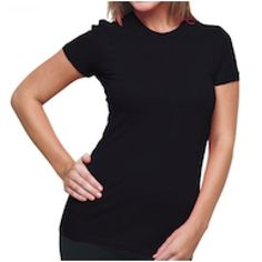 fine jersey knit tshirt made in USA $11 and lots of colors!
