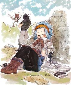 Gajeel x Levy ~Fairy Tail~ Fairy Tail Levy, Fairy Tail Ships, Anime Fairy Tail, Fairy Tail Art, Fairy Tail Guild, Fairy Tales, Fairytail, Jellal, Nalu