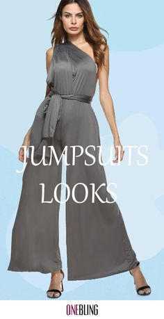96586520 13 Best Evening Jumpsuits images   Long gowns, Chic clothing, Cute ...