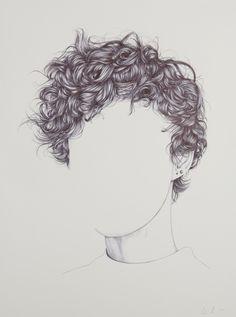 311 Meilleures Images Du Tableau Dessin De Cheveux Dessin