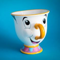 Beauty & The Beast Chip Mug - Officially Licensed Chip Teacup   Menkind