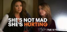 """She's not mad, she's hurting"" :( We would be too!"