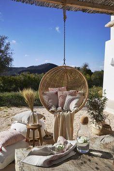 Die 8 besten Bilder auf Hängesessel Rattan | Hanging chairs, Hammock ...