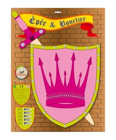 Take a look at this Princess Sword & Shield by Ulysse on #zulily today!