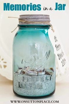 Best DIY Projects: Easy way to remember a fun family beach vacation!