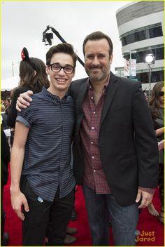 Joey Bragg and Benjamin King at the Radio Disney Music Awards 2015