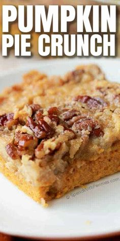 Mini Desserts, Holiday Desserts, Holiday Baking, Just Desserts, Delicious Desserts, Yummy Food, Desserts With Pecans, Deserts For Thanksgiving, Fall Dessert Recipes