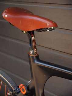 "atelieronest: ""Avenue Madison singlespeed transformation by Atelier Onest, Bucharest, RO Brooks B17 saddle, bullhorn, Tektro 4.1 brake levers, Brooks leather bar tape, Michelin Dynamic Classic..."