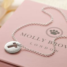 Personalised childrens jewellery christening pinterest molly brown personalised hope open cross childrens necklace gettingpersonal negle Images