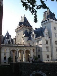 Château à Pau, Pyrénées-Atlantiques, Aquitaine-Limousin-Poitou-Charentes, France
