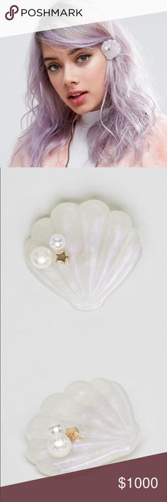 ISO ASOS Limited Edition Mermaid Shell Hair Clip This was recently in stores but has gone out of stock and I am searching for it in any condition. Please help me find! Thanks! ASOS Accessories Hair Accessories