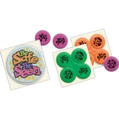 When you need a quick safety promotional item, these road safety awareness Quad-Dots(R) are a popular choice from the Be Safe Be Seen(R) campaign. Sold as a group of four, this product allows four different imprints or four of the same imprints depending on your campaign. Easily peel off to apply these decals to jeans, jackets, caps, bikes, books and sneakers. Customize for added appeal at your next event.