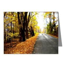 Autumn Road Note Cards (Pk of 10)