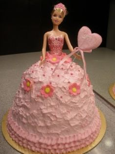 Coolest Barbie Cake Pictures On The Webs Largest Homemade - Birthday cake doll princess