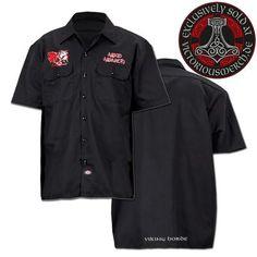 Dickies Worker Shirt - bestickt