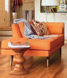 I want more orange furniture