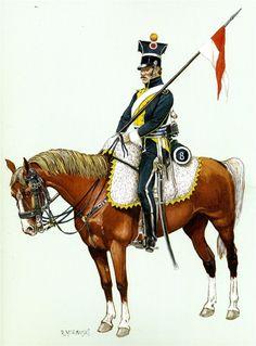 Vistula Legion Uhlan 8th polka.1812.