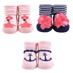 Baby Girls Boys Moo Cow Soft Soled Slip On Booties Pink 3-6 Months