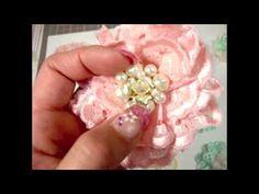 Shabby Chic Eyelet Flowers