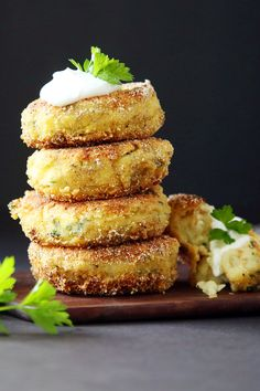 These crisp and savory cakes, a longtime specialty of the Manhattan restaurant called Home, are best described as homemade Tater Tots in patty form. They are a nice change from mashed potatoes at Thanksgiving or Christmas (or any) dinner, make ideal carriers for fried or poached eggs at brunch, and can even double as latkes for Hanukkah. The power of the garlic is tamed in one easy step — by boiling it in the same water as the potatoes. (Photo: Jim Wilson/The New York Times)