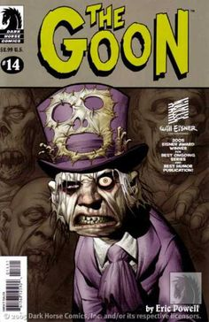 Dark Horse Comics - Will Eisner - Zombie - Skull - Eric Powell - Eric Powell