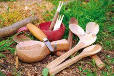 Vyrežte si svoju drevenú lyžicu na guláš!