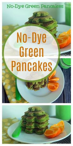 No-Dye Green Pancakes | Healthy Ideas for Kids