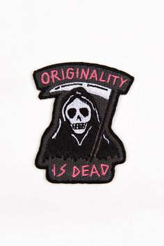 MINI ORIGINALITY IS DEAD PATCH – Glamour Kills UK Store Official UK & Europe Web-Store
