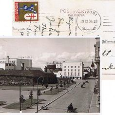 A florishing Finnish town before the war and leaving it to Russia | Postcard from Viipuri, Finland,1934. [Not my caption]