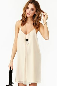 Dream Walking Dress from Nasty Gal, I love the shape of this dress and neckline.. I think itll be the next thing I make for myself