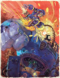 Megaman Tribute by TheRagingSpaniard.deviantart.com on @DeviantArt