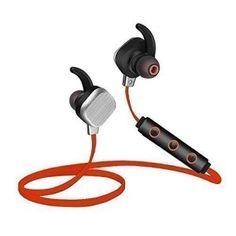 Casque Bluetooth Yokkao® IP55 4.1 stéréo Oreillette sans fil Sports Ecouteurs Stéréo HiFi avec Microphone Waterproof Anti-Sueur pour…