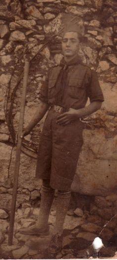 Moxος: ΑΡΧΟΝΤΑΚΗΣ Μανώλης...[Κουρούπης]....ο ΚουρουποΜανώλης πρόσκοπος…..το 1938