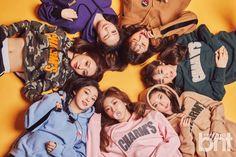 Sua, Handong, Siyeon, Yoohyeon, Gahyeon, Jiu and Dami