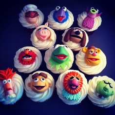 Muppet Cupcakes.