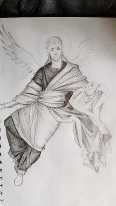 Angel. Byzantine style