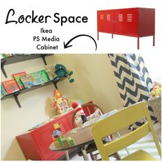 Bright and colorful playroom makeover #playroom #decorating #Ikea #Room&Board #WestElm #childrensfurniture #kidsfurniture