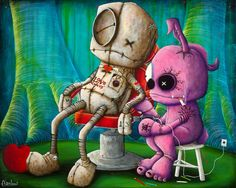 Fabio Napoleoni Memories Inked on to my Canvas...hanging it up this weekend!