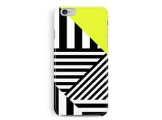 Stripey iPhone Case, iPhone 5 Cover, Geometric iPhone 5 case, Phone Cases, Hipster Phone Cases, Aztec Phone Case, Pop Art, 80s Graphics Case