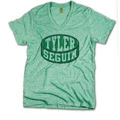 Tyler Seguin Officially Licensed NHLPA Dallas V-Neck Mens XS-2XL Tyler Seguin Puck G