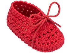 Diy Crafts - Mini Melissa Melissa Shoes My First Mini Tricot Flat Crochet Baby Boots, Crochet Baby Sandals, Booties Crochet, Crochet Baby Clothes, Crochet Shoes, Crochet Slippers, Love Crochet, Baby Booties, Crochet Baby Blanket Beginner