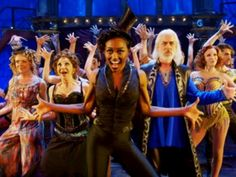 Run away with the circus in a first look of PIPPIN, starring Patina Miller and Matthew James Thomas